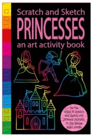 Scratch & Sketch: Activity Book - Princess image