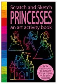 Scratch & Sketch: Activity Book - Princess
