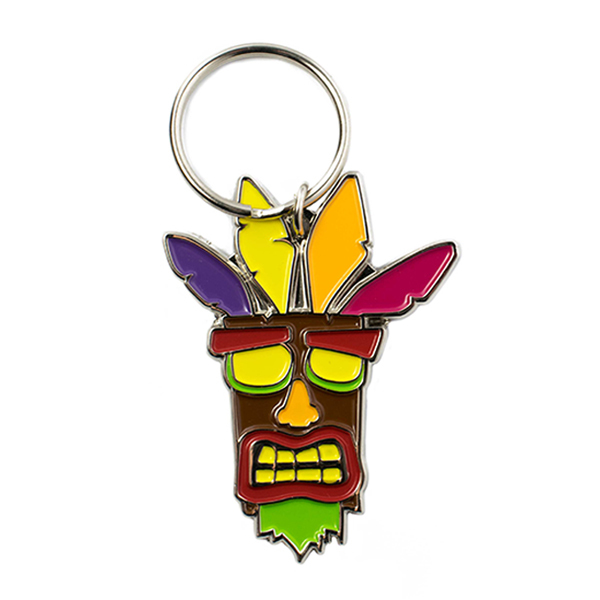 Crash Bandicoot Aku Aku Key Chain