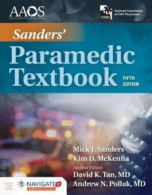 Sanders' Paramedic Textbook Includes Navigate 2 Essentials Access by Mick J Sanders image