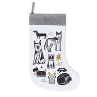 Wee Gallery: Organic Holiday Stocking - Doggy Love