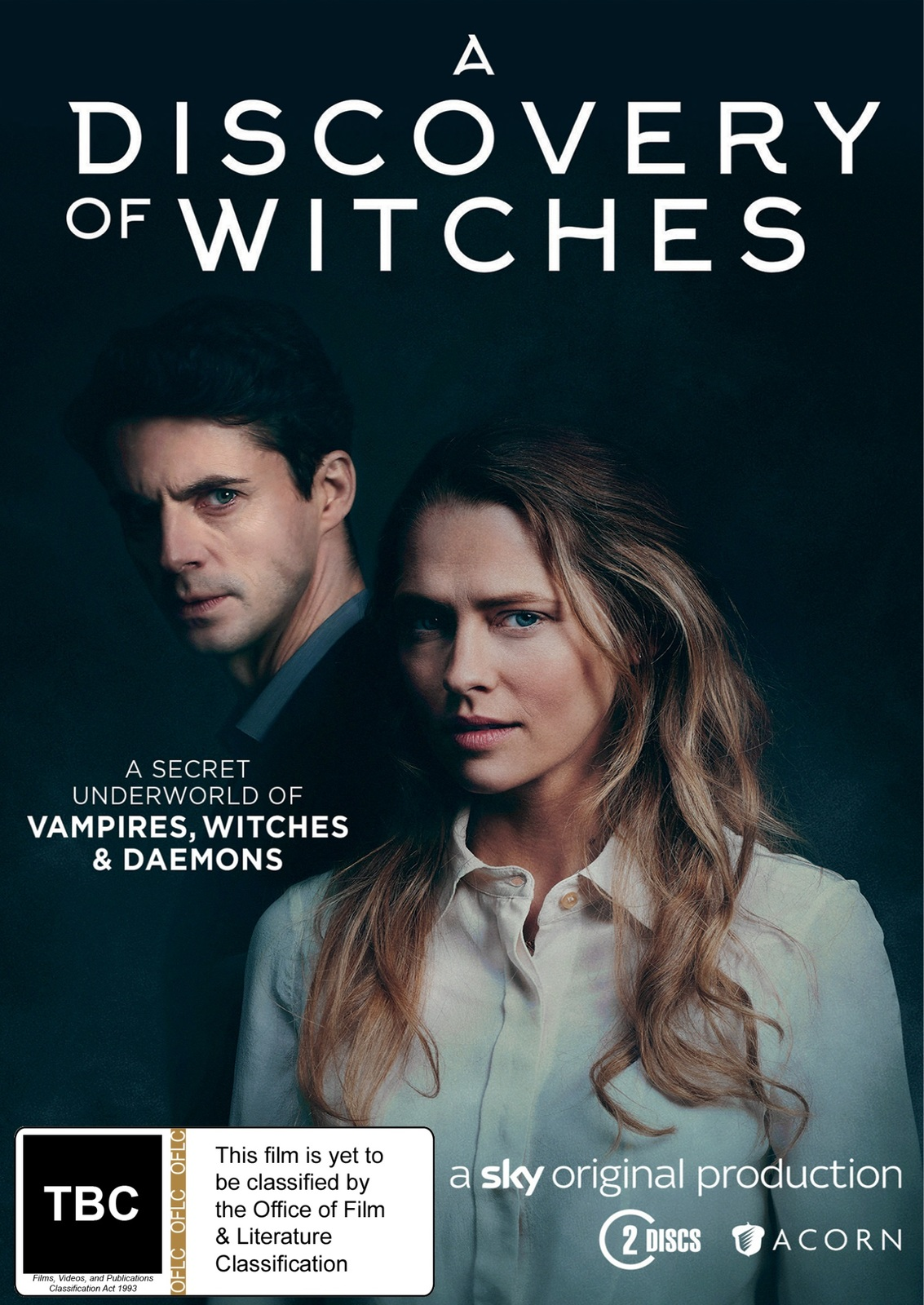 A Discovery of Witches: Season 1 on DVD image