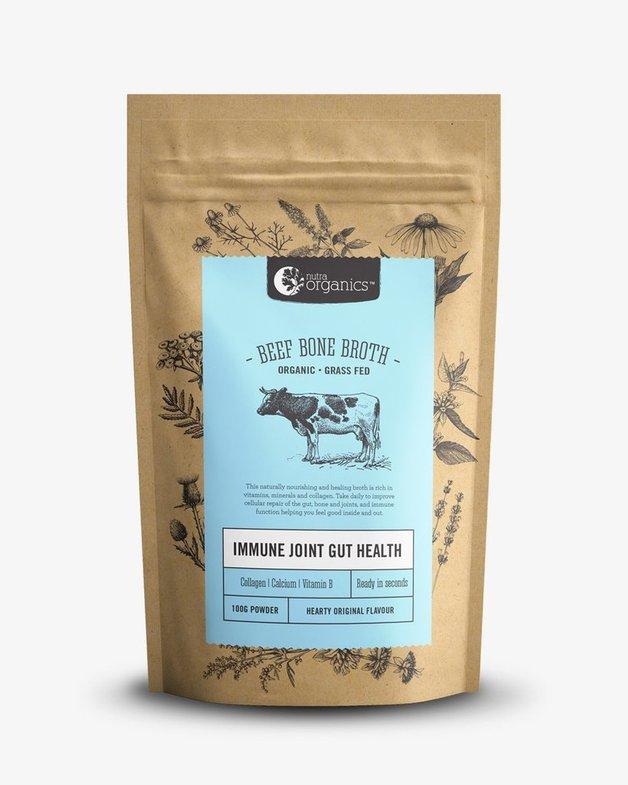 Nutra Organics Beef Bone Broth - Original (100g)