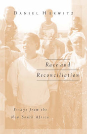 Race and Reconciliation by Daniel Herwitz image