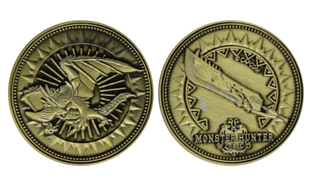 Monster Hunter: Collectible Coin - Great Sword