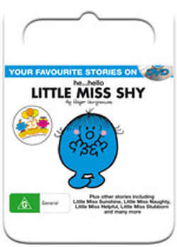 Mr Men & Little Miss: He...Hello Little Miss Shy on DVD