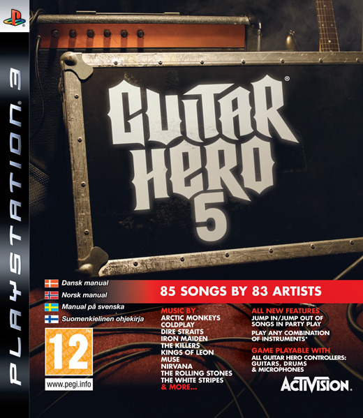 Guitar Hero 5 (Game Only) for PS3