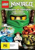 Ninjago Masters Of Spinjitzu: Series 1 & 2 on DVD