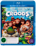 The Croods 3D on Blu-ray, 3D Blu-ray