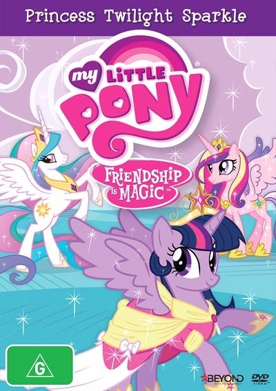 My Little Pony: Friendship is Magic: Princess Twilight Sparkle (Season 4 Collection 1) on DVD image