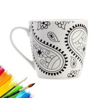 Maxwell & Williams: Mindfulness Mug - Paisley (470ml)