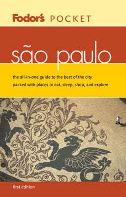 Pocket Sao Paulo by Fodor's image