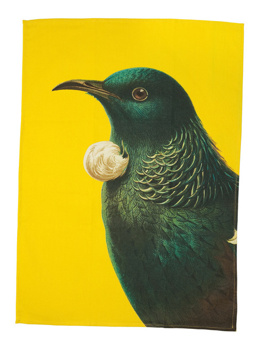Bright Tui - Tea Towel