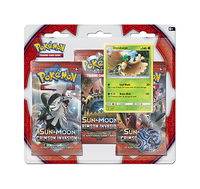 Pokemon TCG Sun & Moon Crimson Invasion 3 Pack Blister: Decidueye