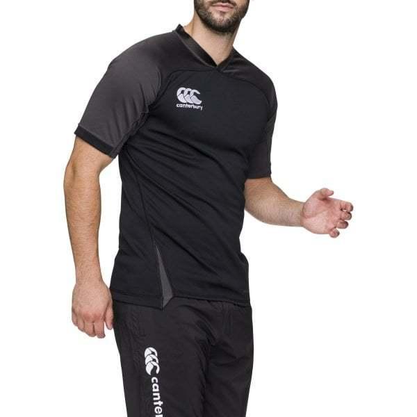 Canterbury Mens Vapodri Evader Jersey- Black (XL)