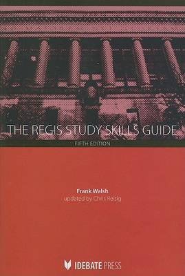 The Regis Study Skills Guide by Frank Walsh image
