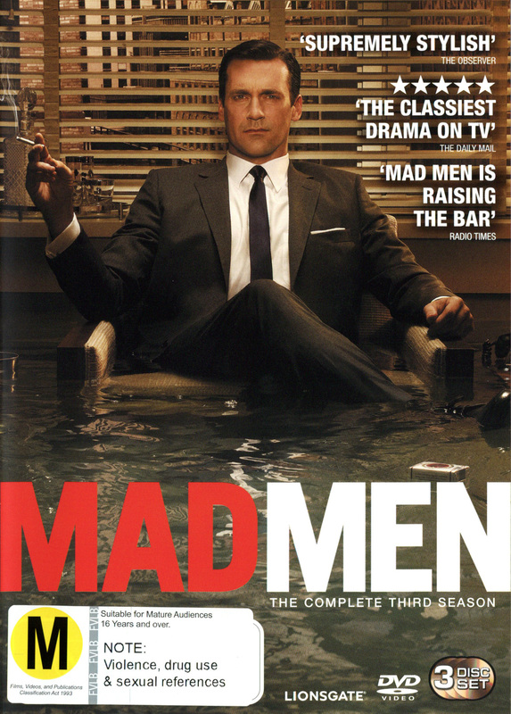 Mad Men - The Complete Third Season on DVD