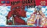 One Piece: Grand Ship Collection Nine Snake Ship Model Kit