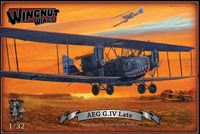 Wingnut Wings 1/32 AEG G.IV (Late) Model Kit image