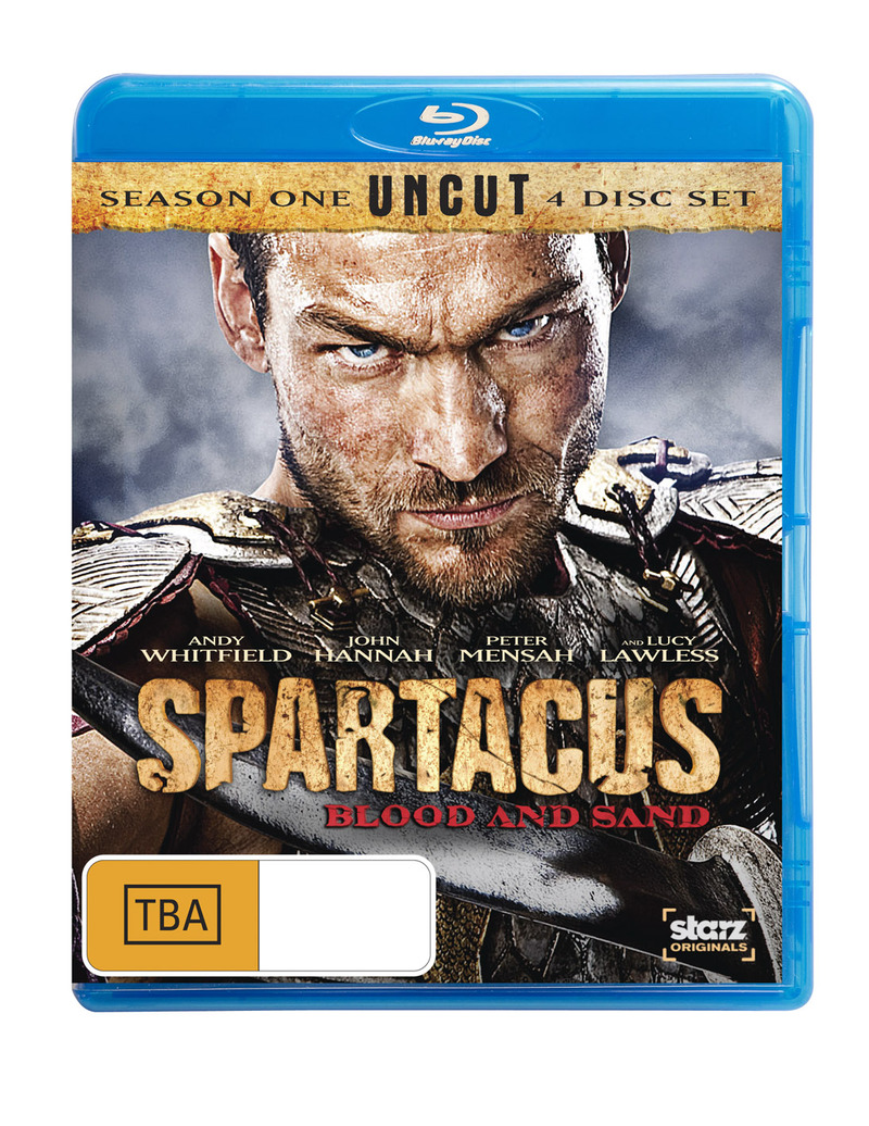 Spartacus: Blood and Sand Season 1 | Blu-ray | Buy Now ...