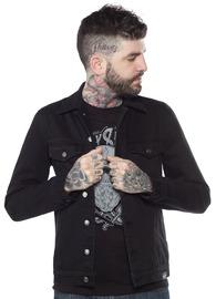 Kustom Kreeps: Classic Black - Button Down Jacket (Medium)