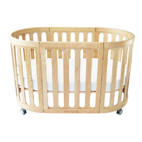 Kaylula Sova 4 in 1 Cot Bed (Beech)