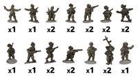 Flames of War: Rifle Platoon (Bersaglieri)
