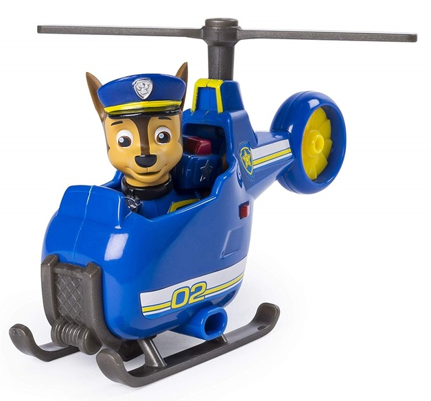 Paw Patrol: Mini Vehicles - (Chase's Mini Helicopter)
