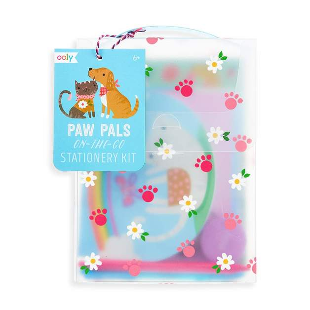 Ooly: Paw Pals On-The-Go Stationery Kit