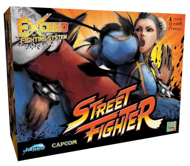 Exceed: Street Fighter - Chun-Li Box