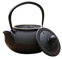 Black Hobnail Cast Iron Teapot (800ml)