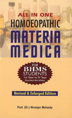 All in One Homoeopathic Materia Medica by N. Mohanty image