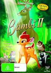 Bambi 2: Great Prince Of The Forest on DVD