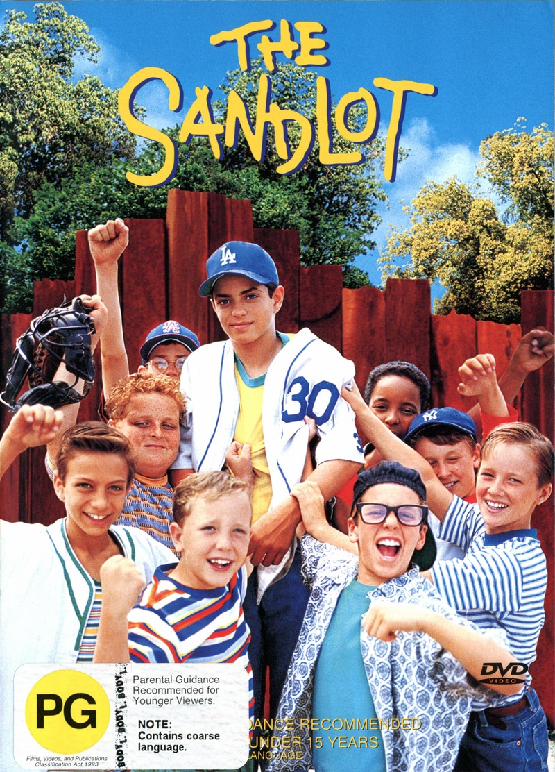 The Sandlot on DVD image