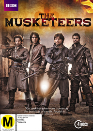 The Musketeers - Season 1 on DVD image