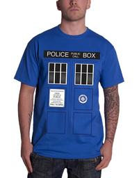 Doctor Who: Tardis Doors T-Shirt - Medium