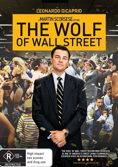 The Wolf of Wall Street on DVD
