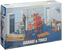 Fujimi: 1/24 Garage & Tools - Model Set