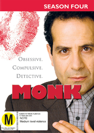 Monk - Season Four on DVD image