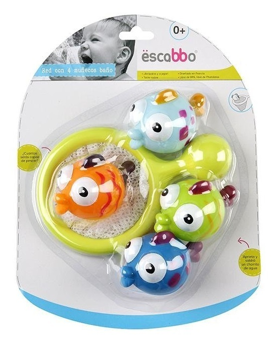 Escaboo: Scoop Net with Tropical Fish - Bath Game image
