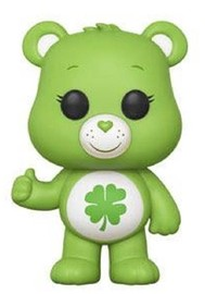 Care Bears - Good Luck Bear Pop! Vinyl Figure (with a chance for a Chase version!)