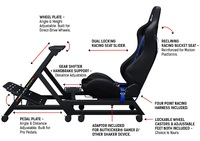 Next Level GT Track Simulator Cockpit - Playstation Edition for  image