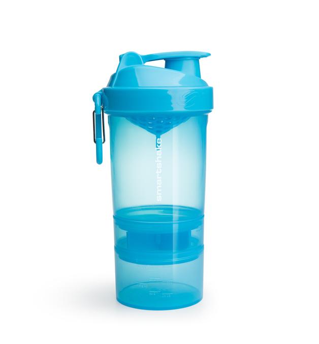 Smartshake Original 2Go Protein Shaker - Blue (600ml)