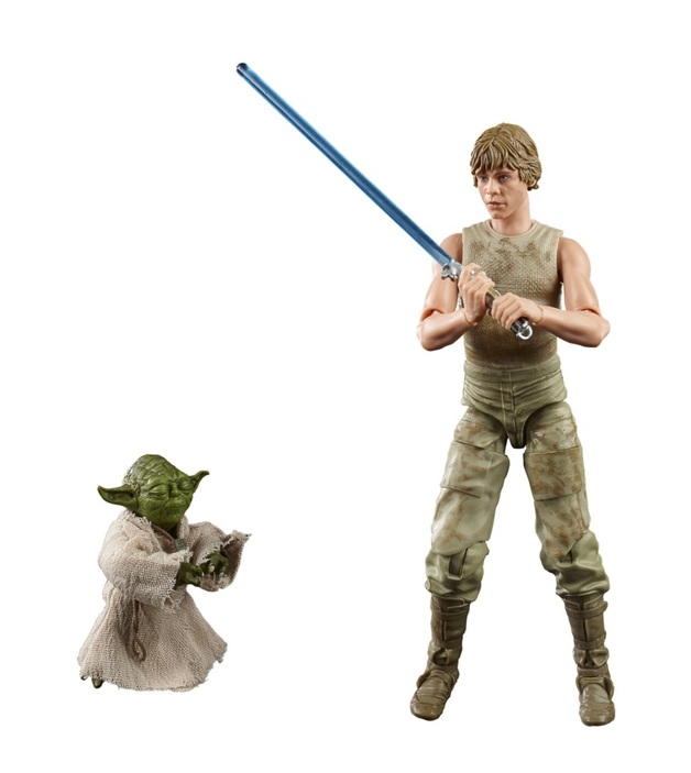 "Star Wars The Black Series: Luke Skywalker & Yoda (Jedi Training) - 6"" Action Figure Set"