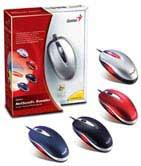 Genius NETSCROLL+TRAVELER OPTICAL MICE USB+PS/2 BLUE