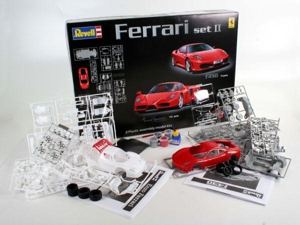 Revell Gift Set Ferrari Enzo 1 24 Model Kit Images At