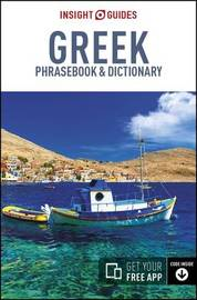 Insight Guides Phrasebook Greek by Insight Guides