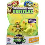 "TMNT Half Shell Hero 2.5"" Figure - Mikey and Brachiosaurus"
