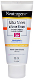 Neutrogena Ultra Sheer Fluid Sunscreen SPF 30 (88ml)
