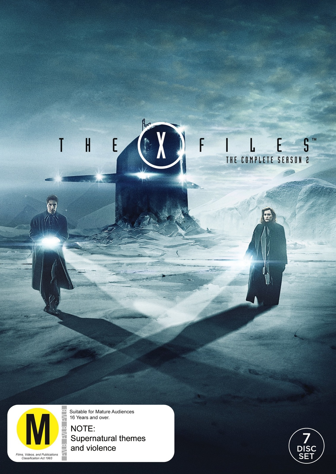 The X-Files - Season 2 (7 Disc Set) on DVD image